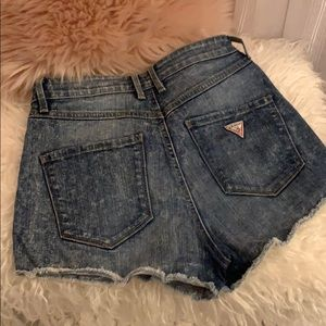 High rise Guess shorts